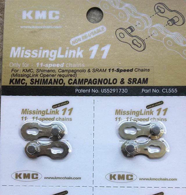 Kmc Missing Chain Link 11 Speed Bike